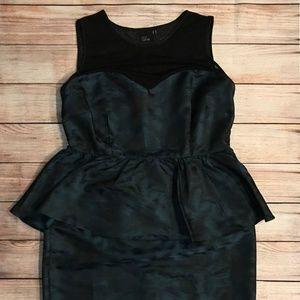 ASOS Curve Plus Size Peplum Dress - Size 16